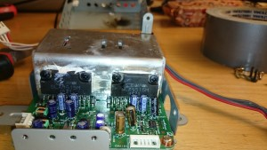 Amplifier with blown SLA5515M